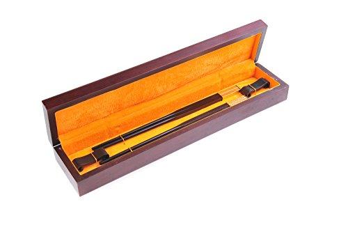Abacus Asiatica Deluxe: Lot de baguettes chinoises dans un élégant coffret en bois, baguettes chinoises en bois de santal rouge avec décoration en