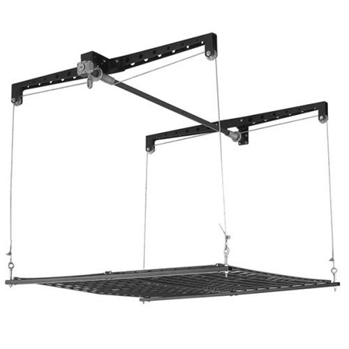 Racor Phl-1R Pro Heavylift 4-By-4-Foot Cable-Lifted Storage Rack front-133989