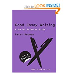 Image: Cover of Good Essay Writing, a Social Sciences Guide