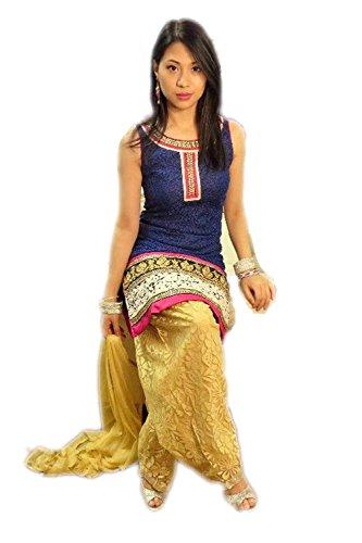 HMP Fashio New Designer Punjabi Patiala Salwar Suit
