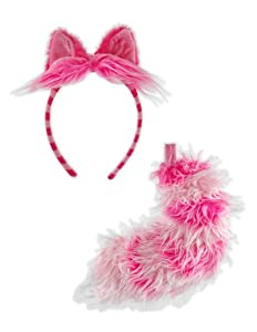 Alice's Cheshire Cat Accessory Set of (Adult) Wonderland - - Alice in Wonderland Cheshire Cat Accessory Set (for adults) Halloween Size: One-Size (japan import)