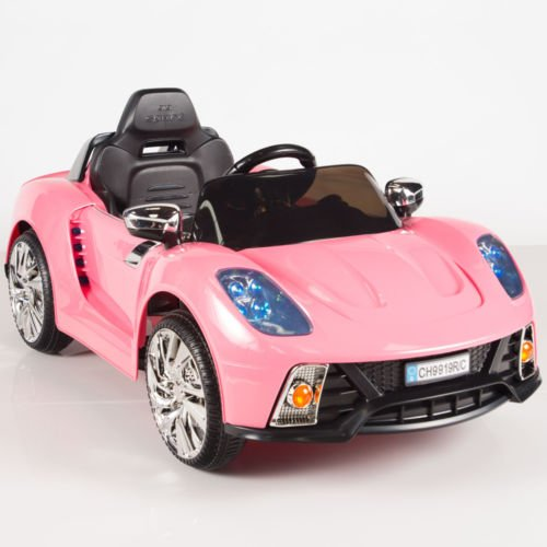 12V-Ride-On-Car-Kids-W-MP3-Electric-Battery-Power-Remote-Control-RC-Pink