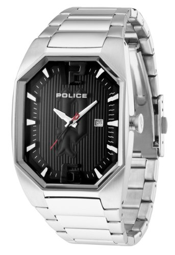 Octane Police Octane Analog Black Dial Women's Watch - PL-12895LS\/02M