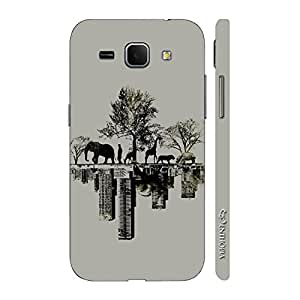 Enthopia Designer Hardshell Case Forest Vs City Back Cover for Samsung Galaxy Core Plus