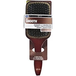 Goody Styling Essentials Smooth Blends Boar Ceramic Brush, Paddle