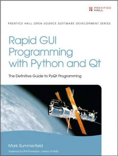 M.Summerfield'Srapid Gui Programming With Python And Qt (Prentice Hall Open Source Software Development) [Hardcover]2007)