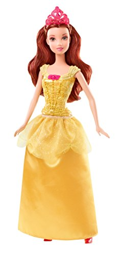 Disney Sparkle Princess - Belle Puppe (30cm) [UK Import]