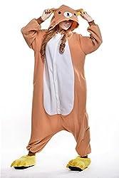 VU ROUL Unisex Adult Clothing Kigurumi Cosplay Costume Easily Bear Pyjamas
