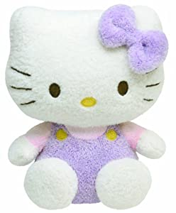 Ty Pluffies - Hello Kitty Purple