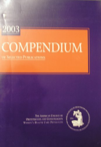2003 Compendium of Selected Publications