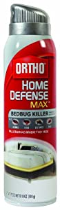 Ortho Home Defense MAX Bedbug Killer Aerosol Spray, 18-Ounce (Discontinued by Manufacturer)