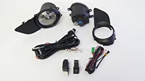 Fog Lights / Lamps Kit for Toyota Sienna 2011 - 2012 (Does not fit SE Model) by Kramer Accessories