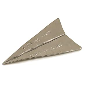 Sky's the Limit - Pewter Airplane Paperweight