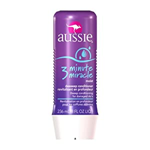 Aussie 3 Minute Miracle Moist Deeeeep Liquid Conditioner, 8-Fluid Ounce Bottles (Pack of 4)