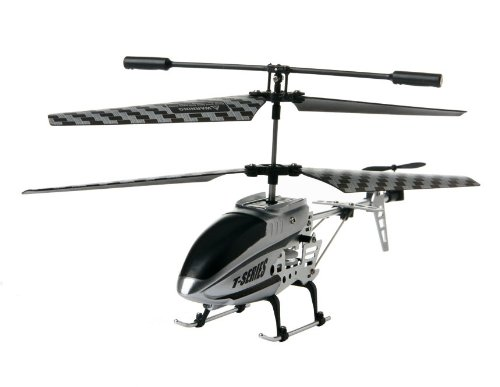 G/S-HOBBY 3.5 Channels Alloy Remote Control Helicopter with Gyroscope (Silver)