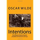 Intentions ~ Oscar Wilde
