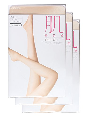 (アツギ)ATSUGI ASTIGU  【肌】 素肌感 〈3足組〉