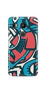 Casenation Tech Art Google Nexus 5X Matte Case
