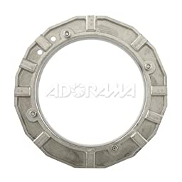 Westcott 3516  Novatron Standard Speed Ring for 2100C, 2140C, 2105C, 2120C and 2110C (Black)