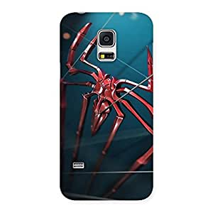 Climbing Spider Multicolor Back Case Cover for Galaxy S5 Mini