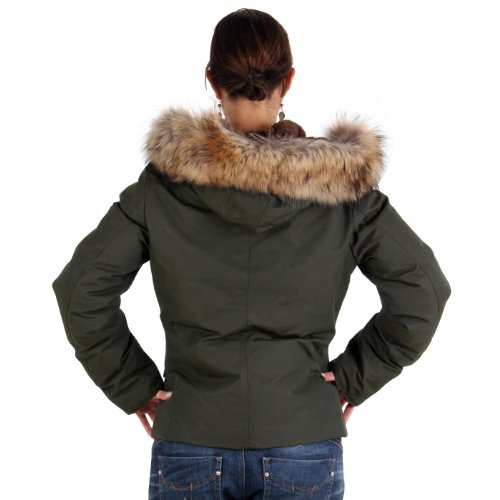 MUSEUM Damen Winter Daunenjacke Green MD19489