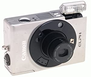 Canon ELPH - Point & Shoot / Zoom camera - APS - lens: 24 mm - 48 mm - black, metallic silver