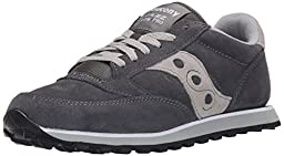 Saucony Originals Men\'s Jazz Low Pro Retro Running Classic Sneaker, Charcoal Grey, 10 D US