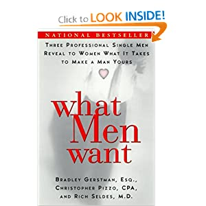 books: What men want: cover