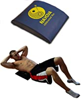 Ab Mat- Ab Workouts, Bench, Machines, Equipment, Trainer, Exerciser - Fitness Equipment for Home - Crossfit Equipment, Workouts - Core Exercises, Exerciser, Trainer - Situp Mat, Pad - Get 6 Pack Abs At Home - 60 Day Guarantee by Nayoya Wellness