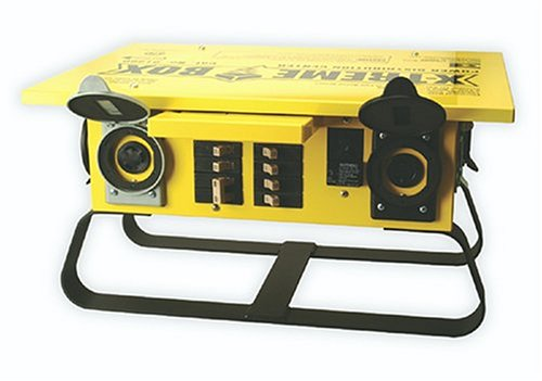 Coleman Cable 1960 Xtreme Box Twist-Lock Portable Power