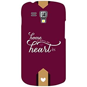 Samsung Galaxy S Duos 7562 Back Cover - Matte Finish Phone Cover