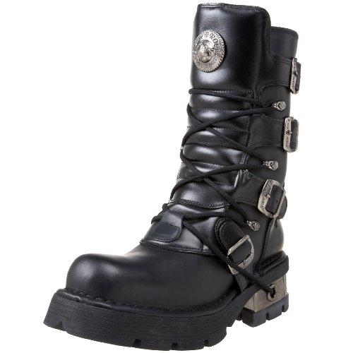 New RockM 373 S1 - Stivali unisex adulto , Nero (Noir (Itali Negro/Nomada Negro/Planin)), 40