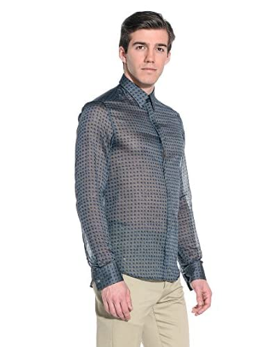 Costume National Camisa Hombre Gris