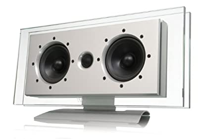 "Waterfall Audio ""Elora LR"" Elora Glass and Aluminum Left or Right Channel Speaker (Single) from Waterfall"