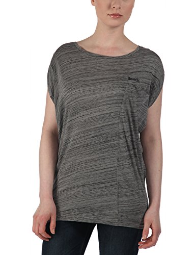Bench Damen T-shirt AVOCCA, Neutral Grey, M, BLGF0112