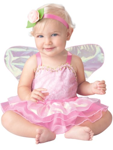 InCharacter Baby Girl's Precious Pixie Costume, Pink