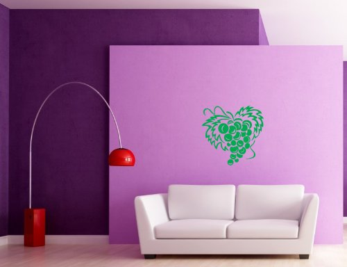 Wall Vinyl Decal Sticker Art Design Cute Bunch Of Grape Room Nice Picture Decor Hall Wall Chu539
