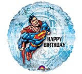 Superman 18&quot; Happy Birthday Mylar Balloon