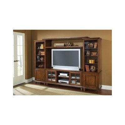 Grand Bay Entertainment Large Wall Unit - Pine (Entertainment Center Pine compare prices)