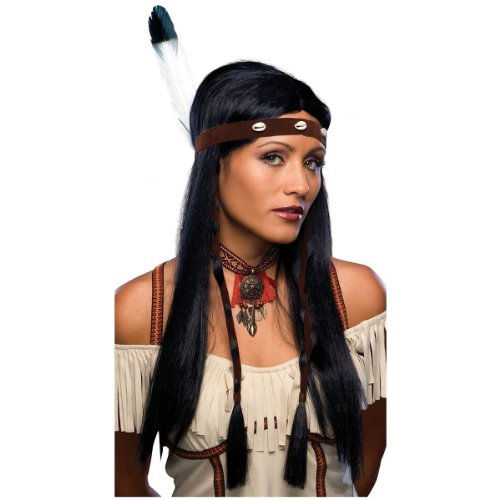 Adult Sexy Indian Costume Wig