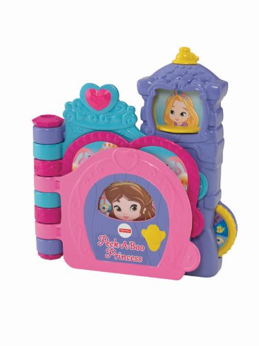 Fisher-Price Disney Infant - Princess Peek-A-Boo Book - 1