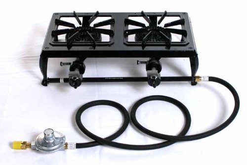 No. 512 Outdoor Propane Stove with Supply Assembly