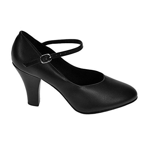 So Danca CH53 Nero Character Shoe 4œ UK 7œ US