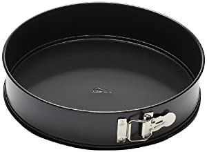 Patisse Nonstick Springform Pan, 10 1/4-Inch, Black