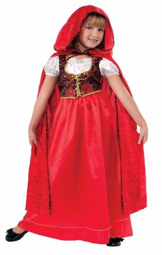 Forum Designer Collection Ill Red Riding Hood Child Costume, Medium/8-10