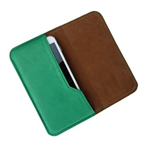 i-KitPit : PU Leather Flip Pouch Case Cover For Lava Xolo X1000 (GREEN)