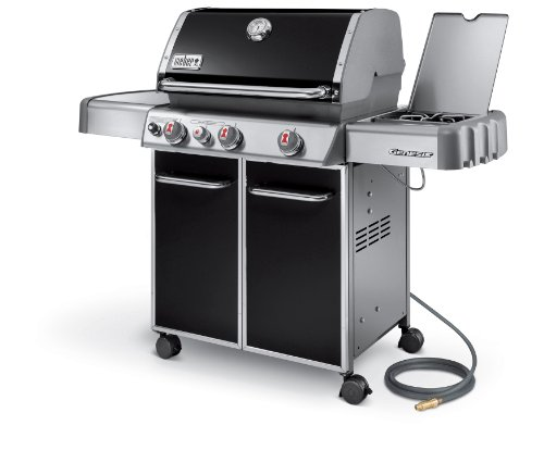 Weber Genesis 6631001 E-330 637-Square-Inch 38000-BTU Natural-Gas Grill Black on sale
