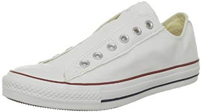 Converse Chuck Taylor All Star Slip On Ox, Baskets mode mixte adulte - Blanc (Blanc Optical), 36 EU