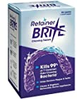 Retainer Brite Cleaning Tablets - 96 Tablet Pack - 3 Months Supply by Retainer Brite