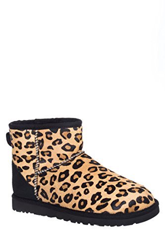 Classic Mini Calf Hair Flat Ankle Boot